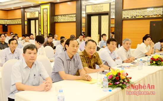 Đại diện lãnh đạo Bộ GTVT tham dự hội thảo